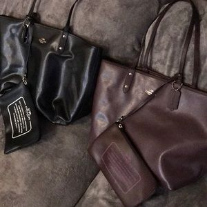 Reversible Coach bags
